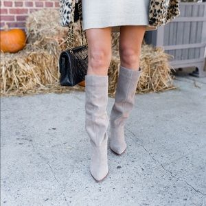 Sole Society suede boots